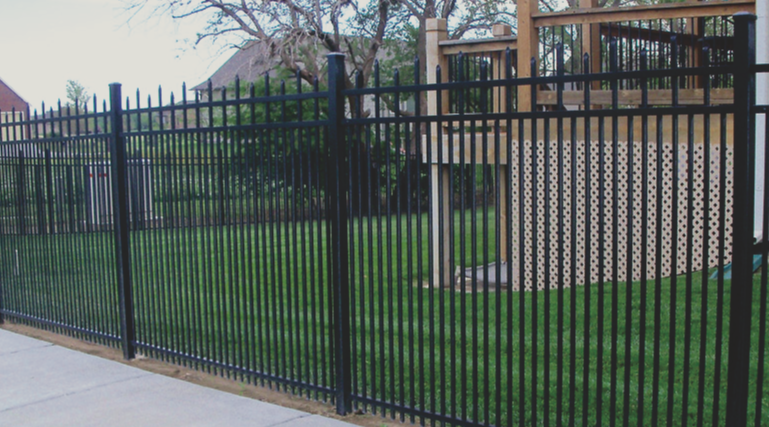 If you want the look of a wrought iron fence, get an ornamental fence. Either made our of steel or aluminum, ornamental fences provide security and can add beauty to any property.