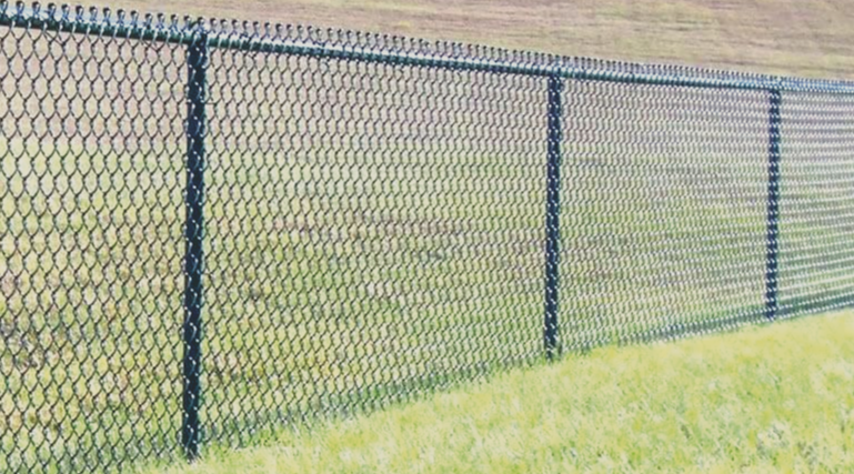 Chain link fences are very affordable and they come in many different colors and many different styles! They are great security fences for any type of property, commercial or residential!