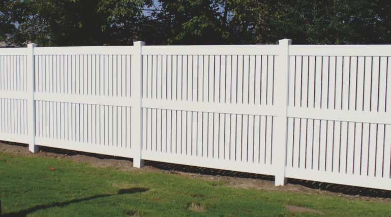 Vinyl requires very little maintenance due to is durability in any weather condition. Vinyl comes in many different colors and styles and can also increase your property value.